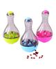 Pet Dogs Cats Fun Bowl Toy Feeder Dog Feeding Pets Dog Tumbler Leakage Food Ball Puppy Pet Training Exercise Fun Bowl