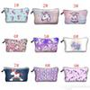 Unicorn Makeup Bag 15 Style Cosmetic Bags Fashion Zipper Unicorn Bag for Cosmetic Makeup Items Free Shipping