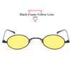 Siyah Çerçeve Sarı Lens