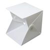 Mini Folding Studio portable photography studio Mini foldable softbox with USB LED light Desktop white backgound soft