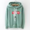 Russian Explosion Women's Hoodies Long-sleeved Hooded Pullover Casual Loose Printed Letters Trend Sweatshirt Women Tops Female