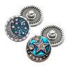 High quality w325 3D 18mm 20mm rhinestone metal snap button for Bracelet Necklace Jewelry For Women Fashion accessorie