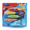 Torpedo Rocket Toy Torpedo Dive Swim Sticks Swimming Pool Bathtub Bath Fun Swimming Torpedo Glides Under Water Toy for Kids 4PCS SET