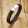 Brown-Silver Clasp -Message For Length