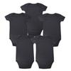 Tender Babies Place New unisex Boy Baby Clothing Baby Newborn Body Black 100% Soft Cotton 0-12 months short sleeve