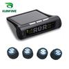 Smart Car TPMS Tyre Pressure Monitoring System Solar Energy TPMS Digital LCD Display Auto Security Alarm Systems KF-A1088