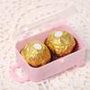 12pcs Lot Travel Luggage Design Plastic Candy Box Mini Suitcase Box Wedding Baby Shower Chocolate Christmas Gifts