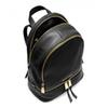 famous brand backpacks designer fashion women lady black red rucksack bag charms Backpack Style