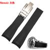 New watchbands Silicone Rubber Watchband Accessories Insurance folding buckle deployment Sport Swimming waterproof straps 20mm