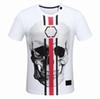 2018 Newest Fashion Summer T Shirt Skulls Printing Cotton T-shirt Casual Men Short Sleeve O-Neck Tees Teenager Hot Tops D30