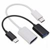 New Type C OTG Cable Adapter USB 3.1 Type-C Male to USB 3.0 A Female OTG Data Cable Cord Adapter White Black 16.5cm