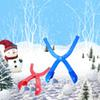 Winter Snowball Maker Toy Outdoor Play Snow Toys For Kids Snowfight 36*10cm Red Blue Color Free
