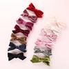 Fashion Velvet Kids Girls Hair Clips Single Bows Baby Girls Hairpins Sweet Lovely Bow Hair Barrettes New Baby Bands