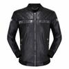 New quality skull men's leather jacket black PP suede jacket zipper slim jersey top M-3XL men's jacket PP