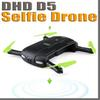 2018 JJRC DHD D5 Selfie FPV Drone With HD Camera Foldable RC Pocket Drones Phone Control Helicopter Mini Dron VS JJRC H37 523 Quadcopter