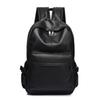 New Fashion Men Backpack Men's Backpacfor Teenager Luxury Designer PU Leather BackpacMale High Quality Travel Backpacks