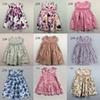 Baby Dresses With Pink Floral Girls Beach Dress The Little Baby Girls Cute Dress Girls England Style Skirt Outside Clothes 2016 New Summer
