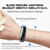 M3 Fitness Bracelet Color-screen IP67 Waterproof blood pressure Oxygen Monitor sports Heart Rate Smart band pk mi band 3