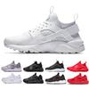 wholesale Huarache Ultra Run shoes triple White Black men women Running Shoes red grey Huaraches sport Shoe Mens Womens Sneakers us 5.5-11