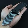 Folding knife new tactical ZERO TOLERANCE 0350 spring power system pocket knife G10 handle ELMAX blade utility outdoor camping tool knife