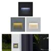 3W led Stair Light with Embedded box Aluminum Step Lights Outdoor Waterproof IP65 LED Wall Lamp Footlight