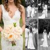 Retro Sparkly 2017 Wedding Dresses Sheer Mermaid Beaded