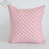 45cm Square Home Decorative Cute Heart Cotton Linen Pillow Cover Case Pillow Case