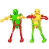 Walking Dancing Robots Toys 360 degrees Clockwork Wind Up Dancing Robot Toy For Baby Kids Developmental Gift Puzzle Christmas Gifts C4645