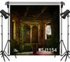 wholesale Polyester & Vinyl Halloween Vintage Castle Balcony Dreamy Backdrops Background For Photography Studio Backdrop Photo Props