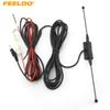 FEELDO 3.5mm TRS Connector Active antenna with built-in amplifier for digital TV SKU#4152