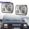 "5x7"" Auto square led headlamp 5x7 Inch led truck headlight 6x7"" high low beam square led headlight for Jeep Cherokee XJ"
