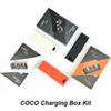 COCO SMOKING Vapor Vape pen Charging Box For Vapor Pods Cartridge With LCD Charging Indicator 1200mAh Charger Bag