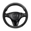 Men Steering Wheel Cover Protector for Car Fits 90% Middle Size Steering Wheel Superior PU Leather Steering Wheel Covers for Male, US Ship