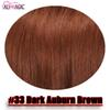 # 33 Dark Auburn Brown