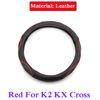 K2 KX Cross için Kırmızı