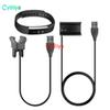 30CM Fitbit Alta Replacement USB Charger Cable Power Adapter Clamp Clip Charging Dock With Reset Function For Fitbit Alta Smart Watch