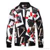 Brand designer G jacket windbreaker long-sleeved men's jacket hoodie clothing zipper with animal letter pattern snake embroidery clothe