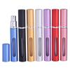 5ml 5CC Portable Perfume Atomizer Bottle Empty Refillable Glass Bottles Aluminum Pump Sprayer Cosmetic Containers