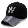 2018 new W Shining Letters Baseball Cap Man Cap Women Fitted Hat Sun Hat Wholesale Luxury Designer Autumn   Winter