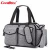 CoolBell Baby Diaper Bag With Insulated Pockets Nappy Bag Multi-functional Baby Accessories Shoulder Include Changing Pad
