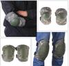 Tactical Cycling Climbing Knee Elbow Protective Pad Protector Straps Adjustable Hunting Knees Support Bag Free Shipping 50Lots