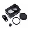 Freeshipping For Xiaomi Yi I Sport Action Camera Frame Protective Case Aluminum Alloy Housing Shockproof Case Frame Shell Lens Cover Mount