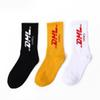 DHL Printed Socks Fashion Skateboard Stockings Outdoor Athletic Socks For Unisex Cotton Breathable Socks Size 38-44