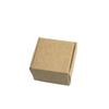 50pcs lot 3.7*3.7*2cm Mini Gift Earring Package Kraft Paper Boxes Jewelry Decoration Cardboard Box Retail