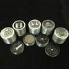Metal Tobacco Grinder Herb 4 Layer Smoking Herb Grinder New Zinc Alloy Filter Smoke Accessories 50mm Mix Designs WX9-800