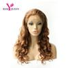 Remy Queen #30 Light Auburn Body Wave Lace Front Wig With Stretch Lace Back Swiss lace 100% Human Hair 130% Medium Density Factory Outlet