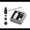 Authentic Yocan Cerum Ceramic Atomizer Wax Vaporizer Tank With QDC Coil Fit For Yocan Kit In Stock 1pc