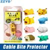 ZZYD Cable Bite Charger Cable Protector Savor Cover Cute Animal Design Charging Cord Protective for iP7 8 X