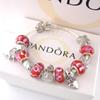 AAA68 Charm Bracelets 925 Silver Pandora Bracelets come with box,pouch 2018 free shipping