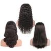Lace Wig 7A 100% Human Hair Full Front 360 Lace Wig with Baby Hair Natural Black 1B Brazilian Hair Remy